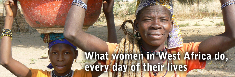 What women in West Africa do